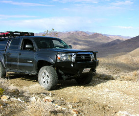 Our Tacoma in Death Valley