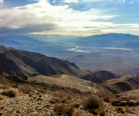 Death Valley Chloride City View SW