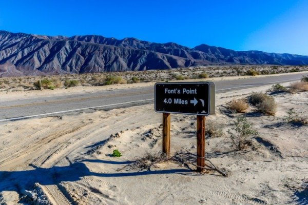 Anza Borrego State Park Fonts Point Tap Into Adventure