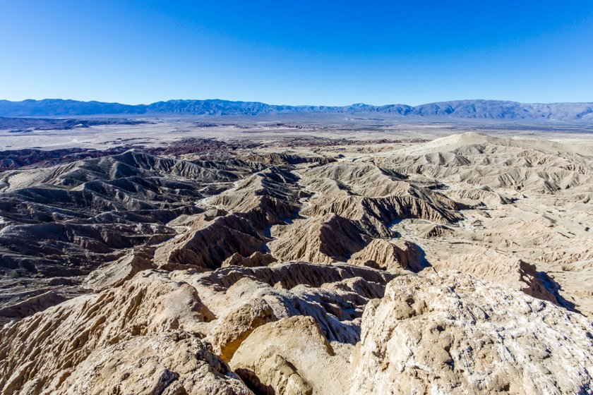 Font's Point looking west-Anza Borrego State Park
