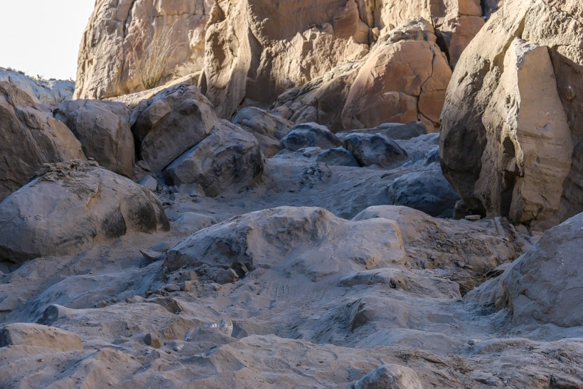 Anza-Borrego.End-trail-sandstone-canyon-