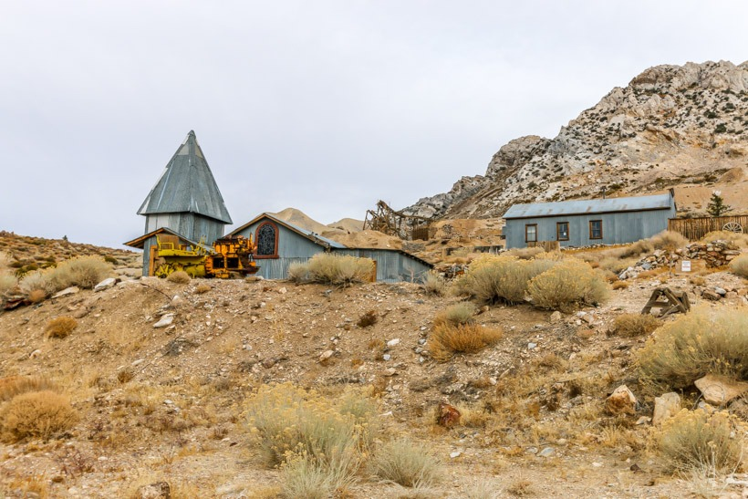 Death Valley-Cerro Gordo Ghost Town