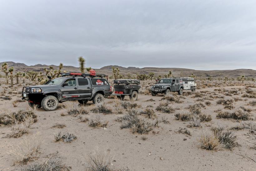 Death Valley Lee Flat east side of Cerro Gordo Road