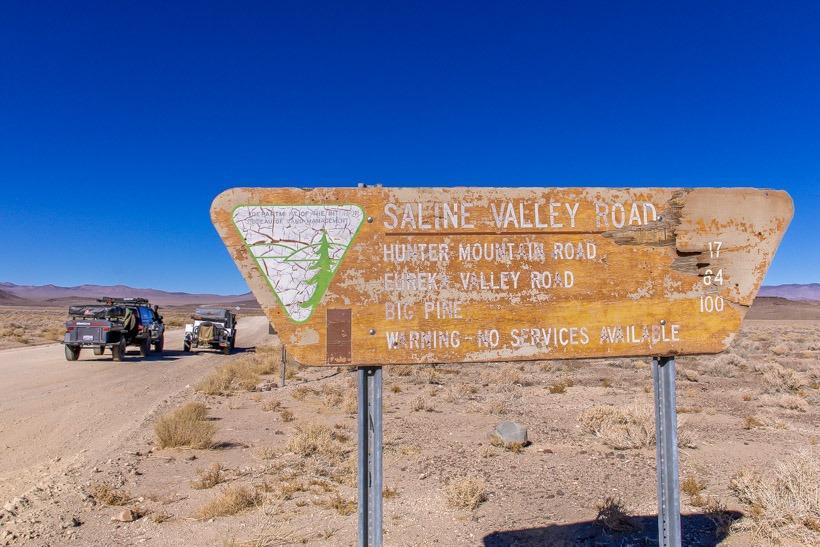 Death Valley Saline Valley Road Tap Into Adventure