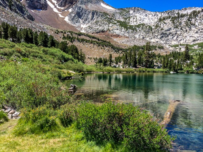 Inyo National Forest-Laurel Lake