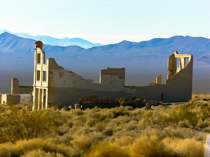 Near Death Valley Rhyolite Ghost Town Tap Into Adventure