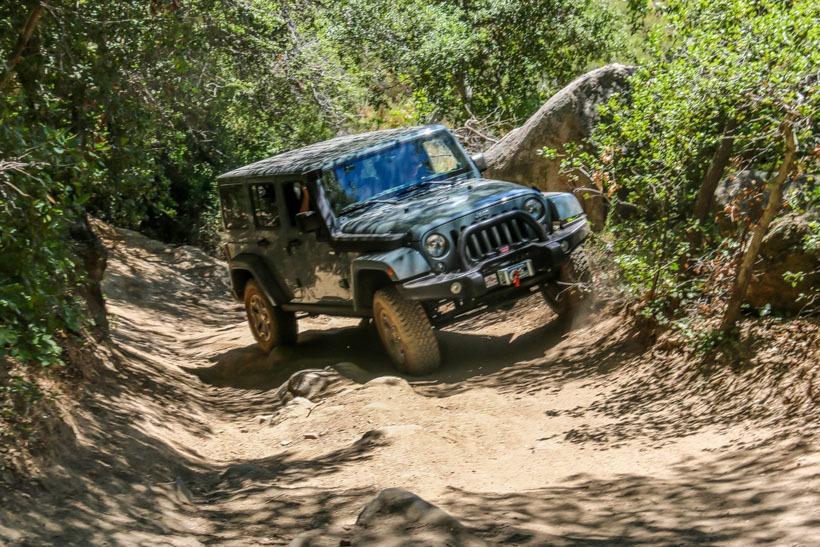 Rubi on the Los Pinyos Trail