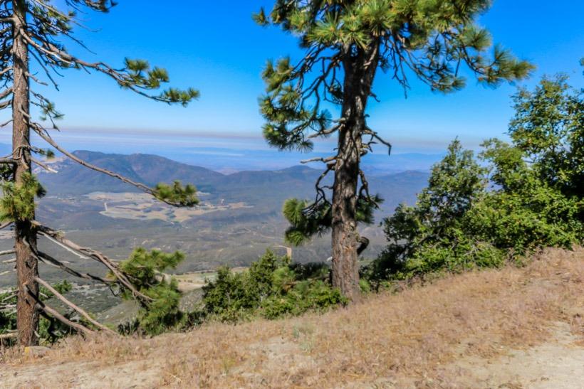 Thomas Mountain-View to Anza