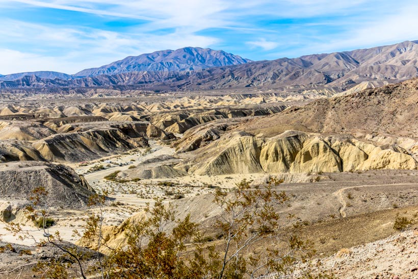 Another View From The Wind Caves In Anza Borrego