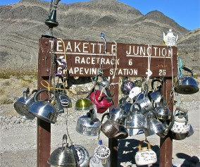 kettles at Teakettle junction