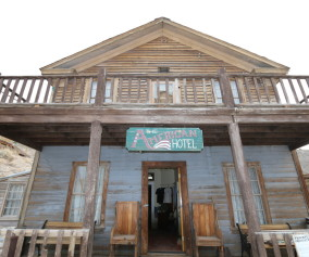 Death Valley The American Hotel: Cerro Gordo Ghost Town
