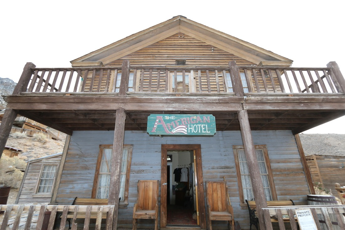 Death Valley The American Hotel: Cerro Gordo Ghost Town