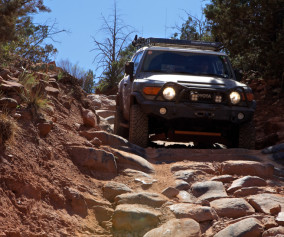 The adventure portal Rig of the month 2010 FJ Cruiser
