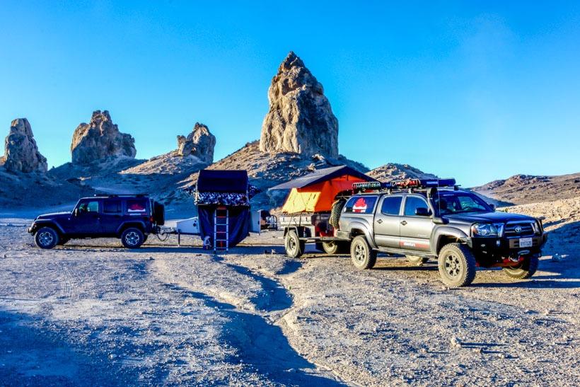 The Adventure Portal's Basecamp Trona Pinnacles