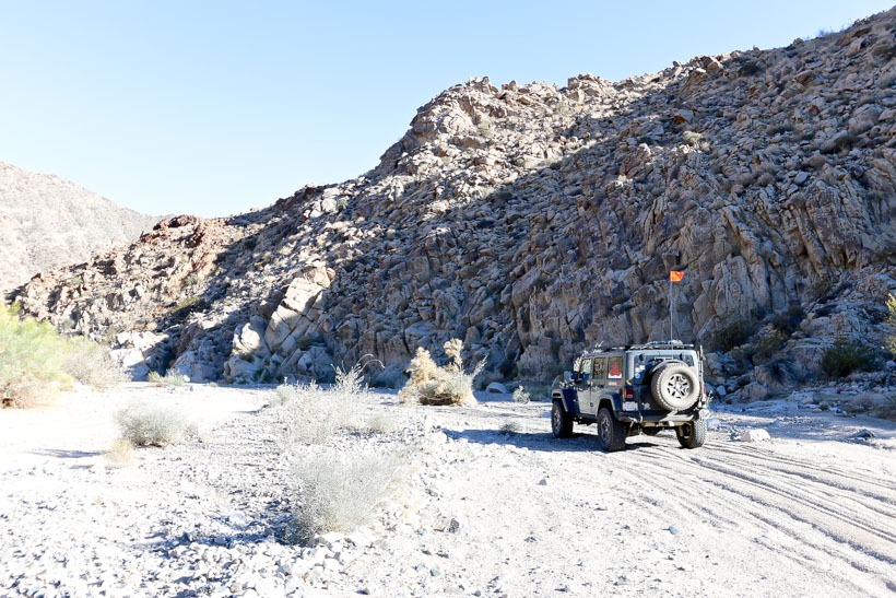 Deep in the Pinkham canyon
