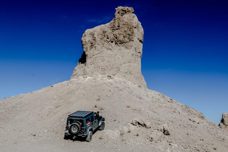 Exploring Trona Pinnacles