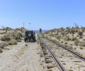 Following the tracks on Mortero Wash Trail-The Adventure Portal-Anza Borrego State Park