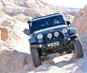 Jeep Wrangler Rubicon Calcite Mine Trail