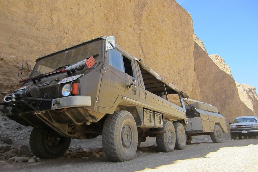 the adventure portal July 2015 rig of the month Pinzgauer