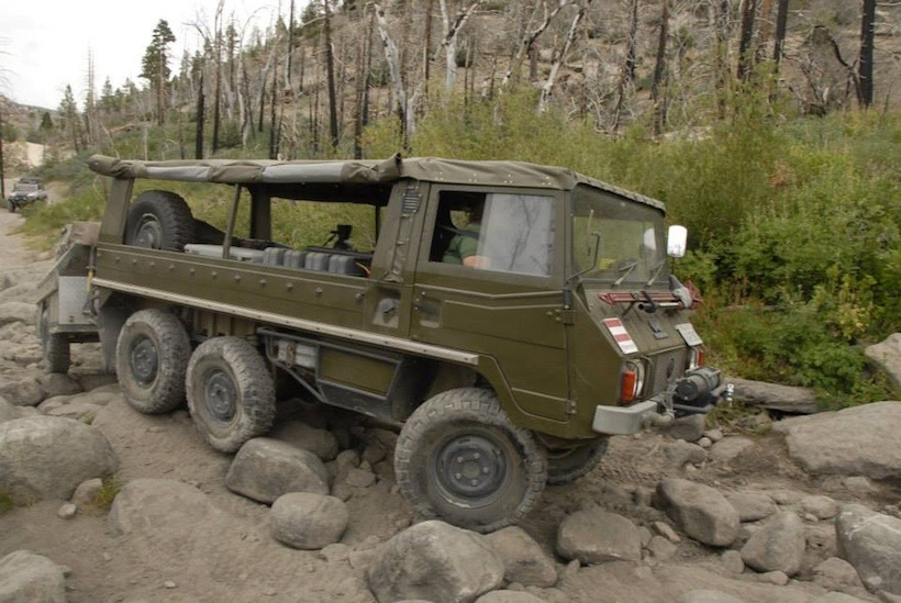 the adventure portal rig of the month-1973 Pinzgauer