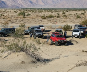 Badlands 4x4 training in Anza Borrego state park- the adventure portal
