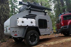 A TEARDROP TRAILER BUILT TO STAND UP THE RIGORS OF OFF ROAD