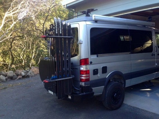 Sprinter 4x4 Ski Racks The Adventure Portal