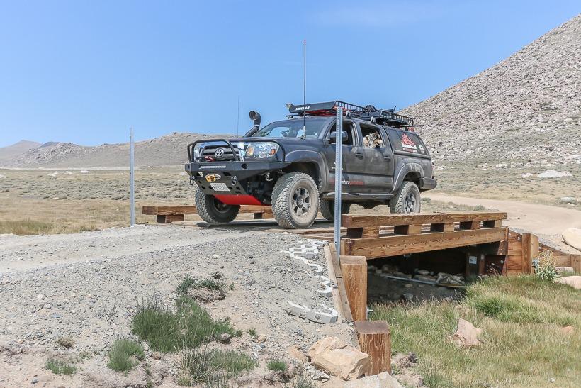 New bridge across creek at Coyote flats the adventure portal