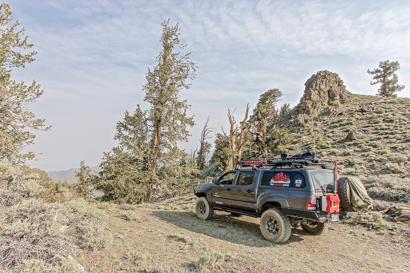 Primitive camping opportunities