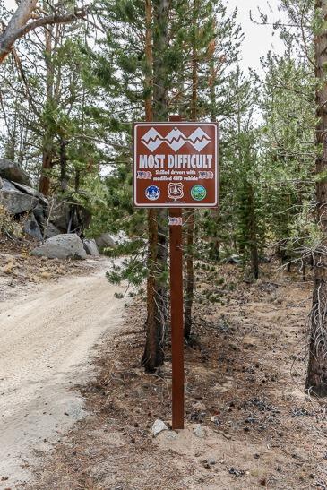 Wheeler Ridge trail head