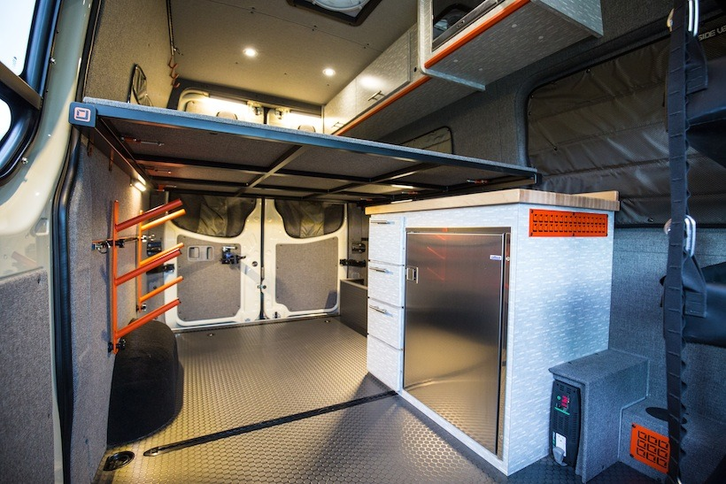 Outside Van Sprinter Conversions Tap Into Adventure