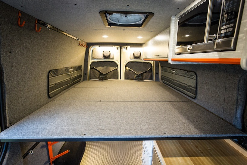 Outside Van Sprinter Conversions Tap Into Adventure