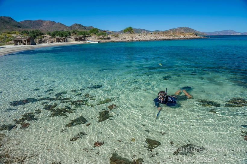 Clear water in Baja Duanne-1