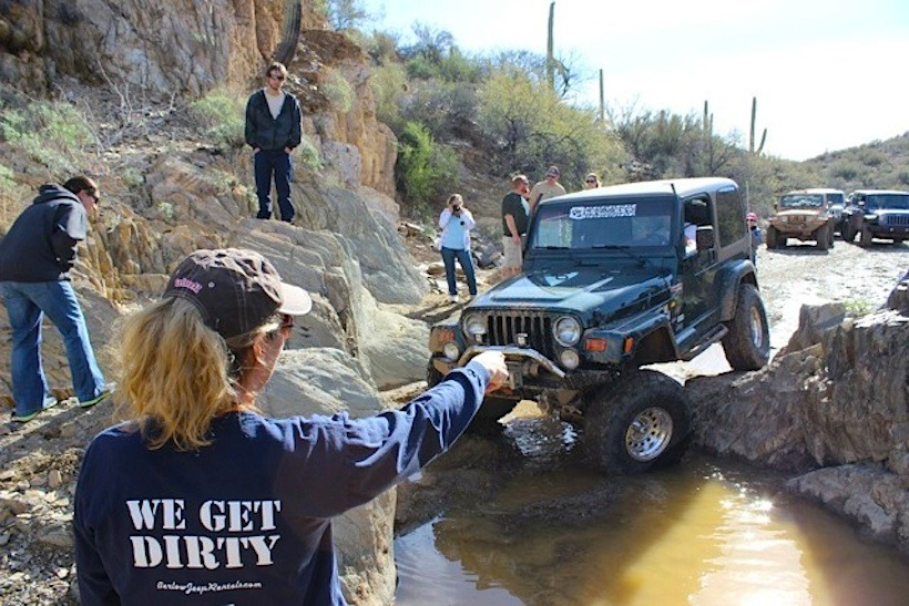 Nice Nena Barlow Began Her Career Leading Jeep Tours In Sedona AZ In 1993. She  Drove Guests On Off Road Trails In Tour Jeeps, Pointing Out The Sights And  Giving ...
