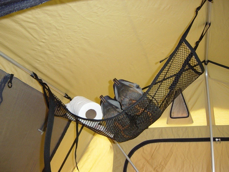 Handy storage area & Roof Top Tent Accessories - | TAP Into Adventure!