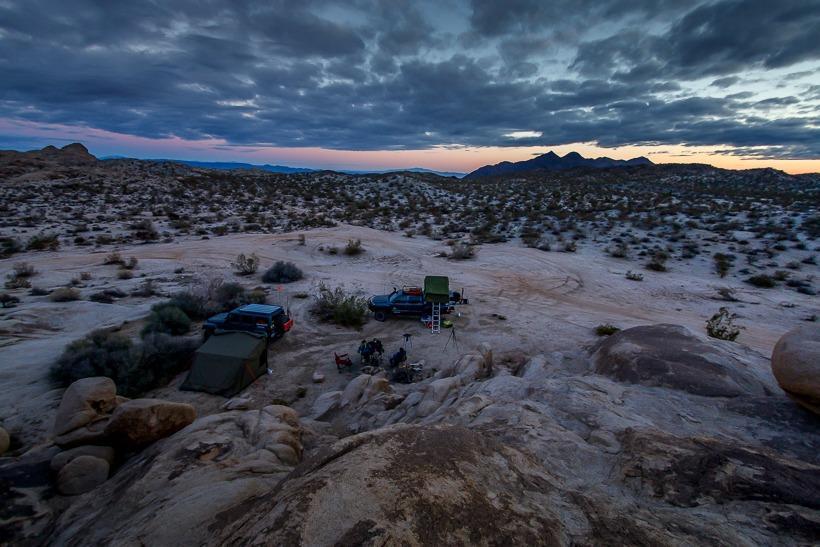 Camping at Balancing Rock