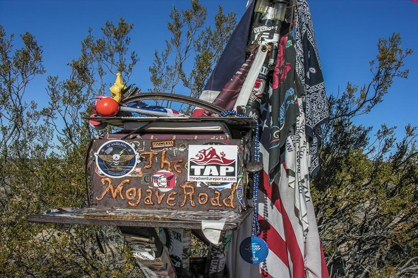 Mojave Road Mailbox