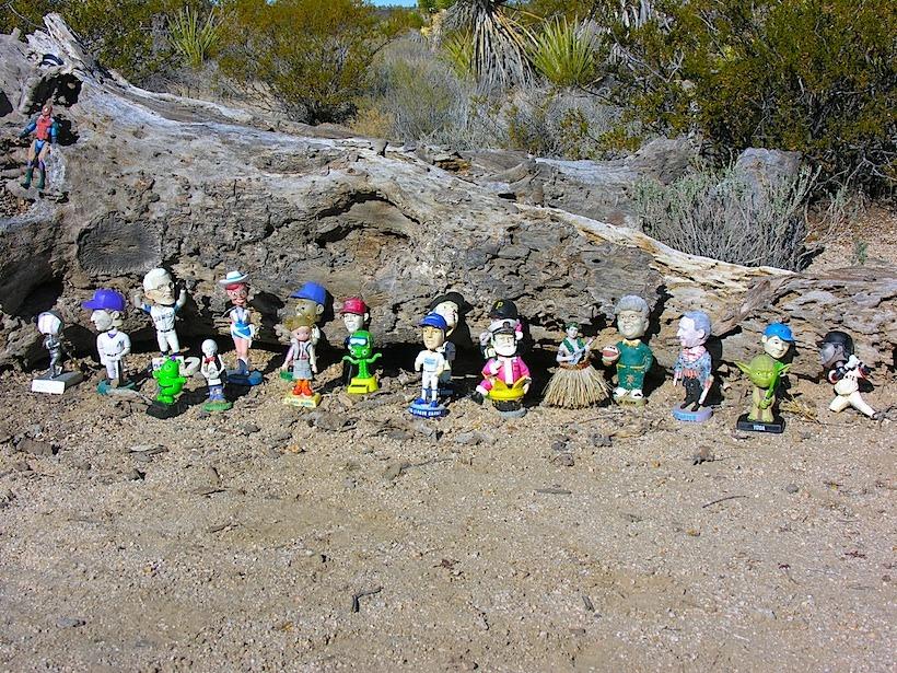 Mojave bobbleheads