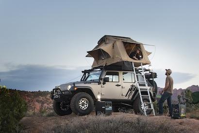 SmittyBilt_Overlander Tent_Camping