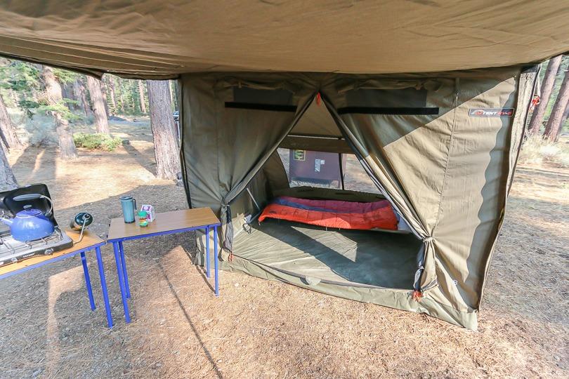 OZ tent front view