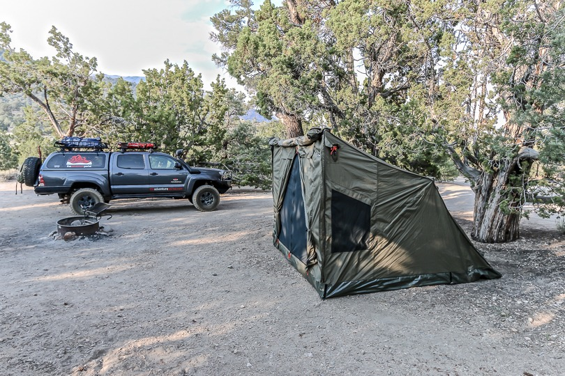 OZ tent side view & Ground Tent Options For the Overlander - | TAP Into Adventure!