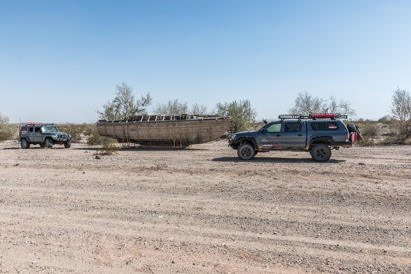 "Iconic ""Desert boat"" on Bradshaw trail"
