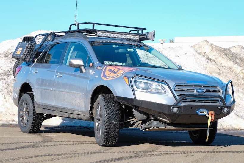 2015 subaru outback off road conversion tap into adventure. Black Bedroom Furniture Sets. Home Design Ideas