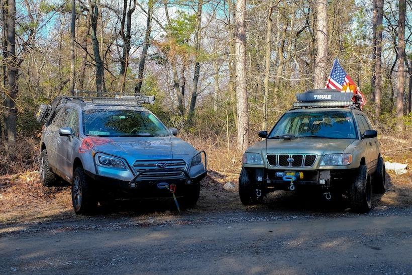 2015 Subaru Outback Off Road Conversion Tap Into