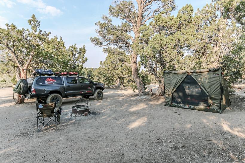 Grandview campground Sierra