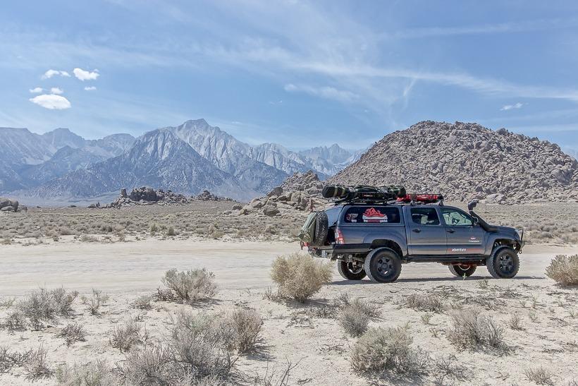 Movie Flats Trailhead Sierra