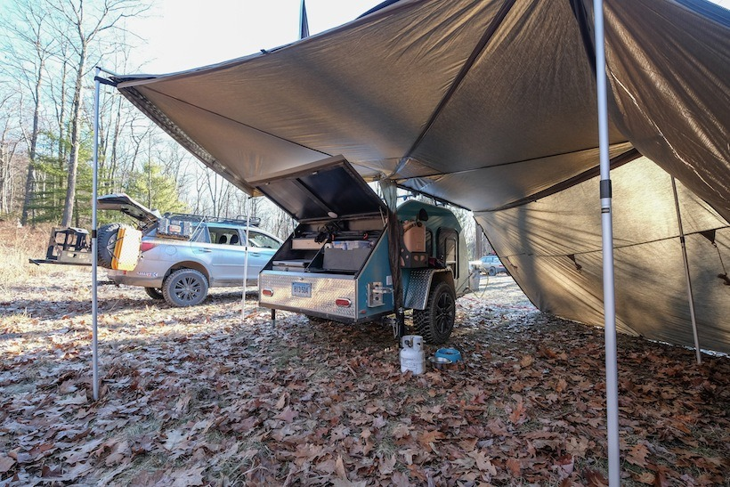 grant wilson - subaru_conversion_TCTeardrop_The_Adventure_Portal_5 & Custom built TCTeardrops 5x9 Trailer - | TAP Into Adventure!