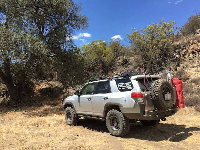 2011 Trail Edition 4runner Off Road Conversion Tap
