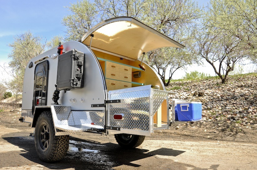 Colorado Teardrops Summit A Lightweight Off Road Trailer
