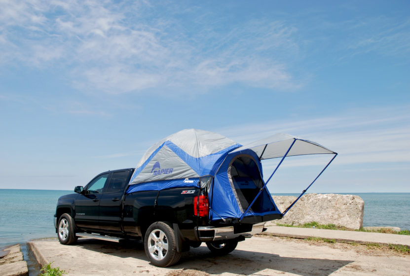 TAP has published a Roof Top Tent Buyeru0027s Guide and an Off-road Trailer Buyers Guide. We thought we would add another c&ing option that might interest ... & Truck and SUV Tents-Camping Options for the Overlander -   TAP ...